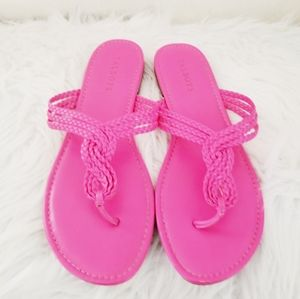 Talbots slip on sandals